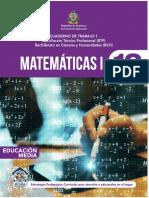 CT1 Matematica I 10mo Grado BTP BCH SE 2020 Compressed