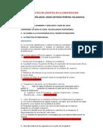 PRIMERA PRACTICA CALIFICADA DE LOGISTICA EN LA CONSTRUCCION