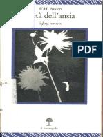 Auden Wystan Hugh - L'Età Dell'Ansia