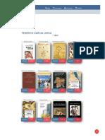 12 Libros de Federico Garcia Lorca