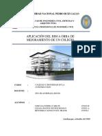 BIM APLICADO A MEJORAMIENTO DE COLEGIO NIVEL SECUNDARIO-GRUPO 02