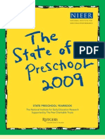 The State of Pre-K by NIEER