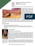 GT  2020 CSC G6°  COMO SURGIÓ EL CRISTIANISMO