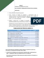 ANEXO 3. Procedimiento para la Revisión y Aprobación de Proyectos de Vivienda
