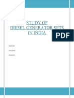 A Study on Diesel Generator Sets in India