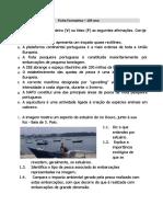 Ficha de trabalho - recursos marítimos