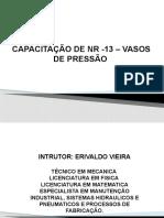 NR 13 - VASOS DE PRESSÃO
