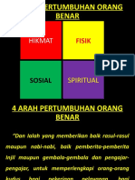 4 ARAH PERTUMBUHAN ORANG BENAR22
