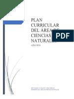 Diseño Curricular Ciencias Naturales - Año 2021 (1)