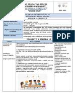 AGENDA SEMANA 12- proyecto 1 (semana 2)