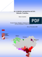 Situación, evolución e perspectivas da D.O. de Euskadi