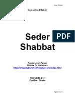 Seder Shabbat