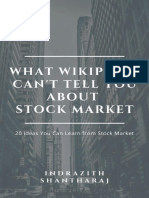 What Wikipedia Cant Tell You About Stock Markets