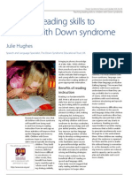 Teaching Reading Skills To Children With Down Syndrome