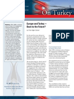 Europe and Turkey - Back to the Future?
