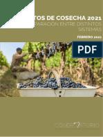 Informe de Costo de Cosecha 2021