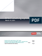 SFS Marketing Update March 15 2011