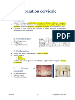 5. Préparation cervicale