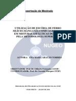 DISSERTAÇÃO_UtilizaçãoEscóriaFerro
