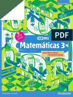 Matemáticas Saberes 3o.