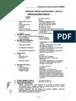 Requisitos de Ambulancia Urbana