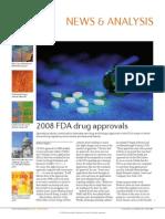 2008 FDA Drug Approvals