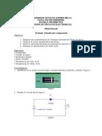 Practica 1 _Caracteristica Del Diodo
