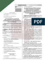 Ley Que Modifica El Articulo 21 a de La Ley n 26887 Ley Ge Ley n 31194 1952967 2 Unlocked