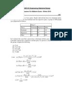 Solution_Midterm Exam_331_W2010