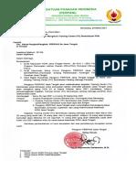 020. Surat Pemanggilan Training Center (TC) Sentralisasi PON.