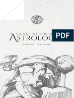 Guia de introdução à Astrologia, Davi de Carvalho