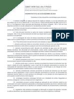 INSTRUÇÃO NORMATIVA N° 60, DE 23 DE DEZEMBRO DE 2019
