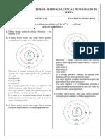 Lista de exercicios 3 - Fisica II