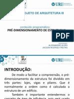 Projeto IV - Estruturas