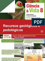Recursos geológicos e pedológicos