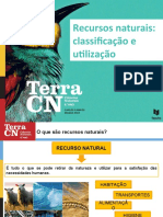 Recursos Naturais_ Classificação e Utilização