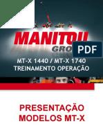 Treinamento Operação MT-X