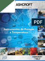 OH Instrumentos de Pressao e Temperatura ASHCROFT