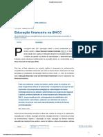 Educação financeira na BNCC