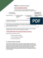 Tema 3 Los sistemas económicos