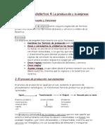 Tema 4 La producción y la empresa