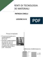 Prof._Cinelli_-_Fondamenti_di_Tecnologia_dei_materiali_-_Lezioni_3_e_4