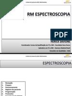 Rm Espectroscopia