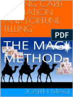 Adivinación Con Naipes y Adivinación Con El Método de Los Magos - Joseph Magi