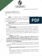 Resolución de la ANEP sobre retorno de la presencialidad en Educación Especial