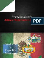 Presentación Sobre Diversidad Cultural de Jalisco, Guerrero e Hidalgo