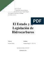 legislacion petrolera
