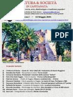 Cultura & Società in Capitanata N. 23 Del 15-05-2021