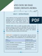 DIA 9 - Listando Estratégias