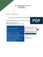 CONTADURÍA PÚBLICA - INSTRUCTIVO PARA INSCRIPCIÓN DE ESTUDIANTES (1) (1)